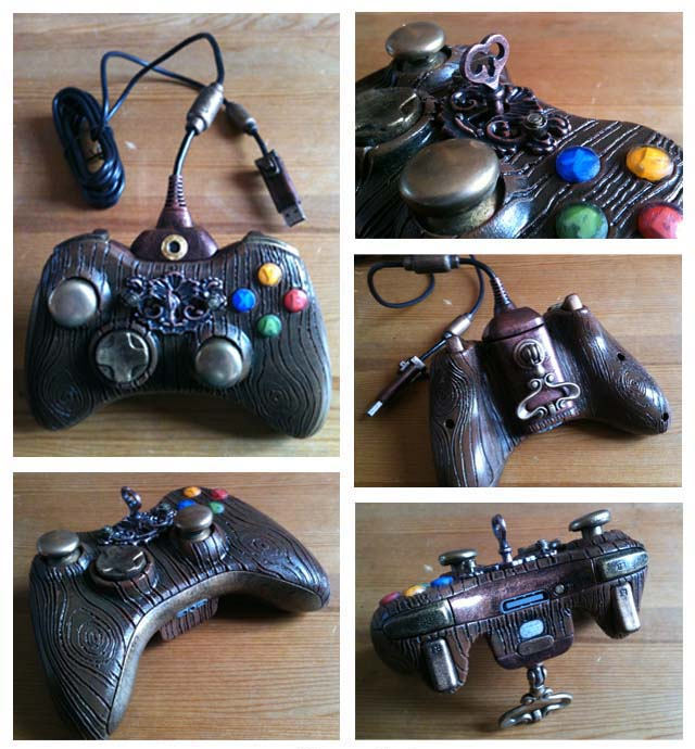 mad maker gn manette xbox steampunk