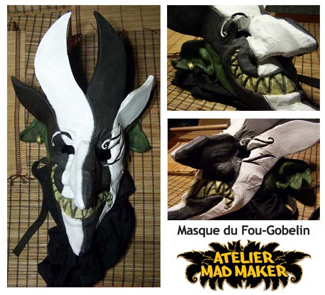 mad maker gn masque fou gobelin