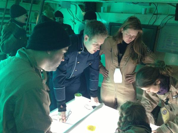 Navigation in the CIC