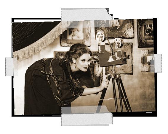 femme-caméra
