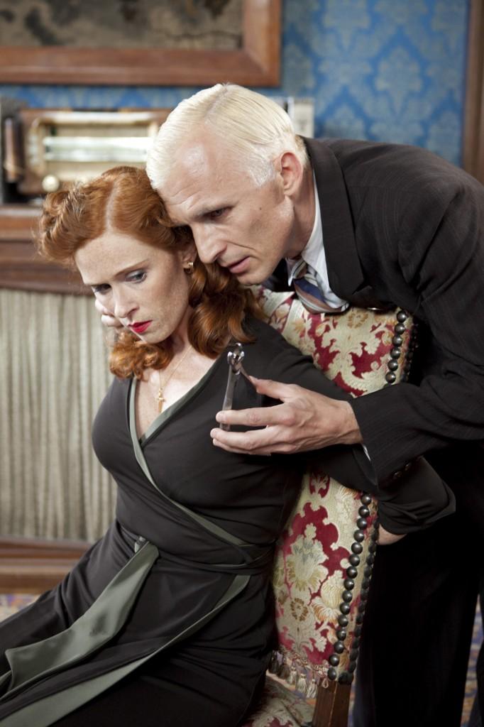 Audrey FLEUROT (Hortense) et Richard SAMMEL (Heinrich) Réalisation Philippe : Triboit et Jean-Marc Brondolo