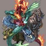 Preview de GN : L'équinoxe des 5 dragons