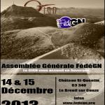 AG de la FédéGN - 14 et 15 décembre