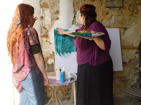 faire de l'art en GN - le lierre et la vigne session 2